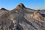 strange landscape produced bu active mud volcanoes Stock Photo - Royalty-Free, Artist: porojnicu                     , Code: 400-05707985