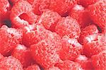 Fresh tasty juicy raspberries background Stock Photo - Royalty-Free, Artist: tetkoren                      , Code: 400-05709737