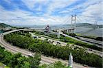 Tsing Ma Bridge Stock Photo - Royalty-Free, Artist: leungchopan                   , Code: 400-05710859