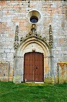 Detail of  Portal of the Romanesque Church in Spain Stock Photo - Royalty-Freenull, Code: 400-05711418