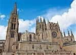 Gothic Cathedral in Burgos, Spain