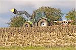 agriculture machine with plow Stock Photo - Royalty-Free, Artist: Jochen                        , Code: 400-05712610