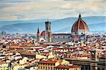 The panorama of Florence, Italy, Europe Stock Photo - Royalty-Free, Artist: rechitansorin                 , Code: 400-05713448