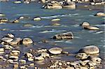 A beautiful mountain river among large stones Stock Photo - Royalty-Free, Artist: porojnicu                     , Code: 400-05714647
