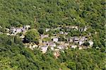 The village of Little Papigo on the wooded slopes of Timphi mountain Stock Photo - Royalty-Free, Artist: alexandr6868                  , Code: 400-05715909
