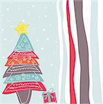 Merry Christmas Stock Photo - Royalty-Free, Artist: lemony                        , Code: 400-05716549