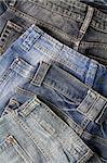 Jeans trousers Stock Photo - Royalty-Free, Artist: donatas1205                   , Code: 400-05720002