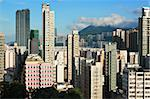 Hong Kong crowded building Stock Photo - Royalty-Free, Artist: leungchopan                   , Code: 400-05721486