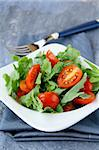 salad with arugula and cherry tomatoes Stock Photo - Royalty-Free, Artist: Dream79                       , Code: 400-05721534