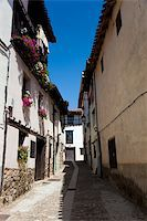 Street of Covarrubias, Burgos, Castilla y Leon, Spain Stock Photo - Royalty-Free, Artist: JavierGil, Code: 400-05724020