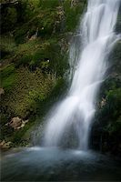 Waterfall in the Narrow pass of The Beyos, Leon, Spain Stock Photo - Royalty-Freenull, Code: 400-05724022