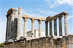 Roman temple of Diana, Evora, Alentejo, Portugal Stock Photo - Royalty-Free, Artist: phbcz                         , Code: 400-05724396