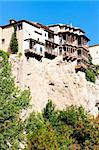 hanging houses, Cuenca, Castile-La Mancha, Spain Stock Photo - Royalty-Free, Artist: phbcz                         , Code: 400-05724404