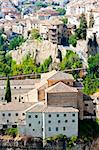 hanging houses, Cuenca, Castile-La Mancha, Spain Stock Photo - Royalty-Free, Artist: phbcz                         , Code: 400-05724407