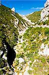 Galamus Gorge, Languedoc-Roussillon, France Stock Photo - Royalty-Free, Artist: phbcz                         , Code: 400-05724419