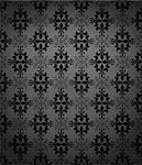 Seamless antique wallpaper with dark edges