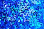 Blue festive background with stars Stock Photo - Royalty-Free, Artist: Dutourdumonde                 , Code: 400-05727859