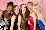 Group Of Teenage Friends Dressed For Prom Stock Photo - Royalty-Free, Artist: MonkeyBusinessImages          , Code: 400-05729064