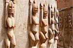 Wood sculptures near the Bandiagara Escarpment, Mali (Africa). Stock Photo - Royalty-Free, Artist: michelealfieri                , Code: 400-05730829