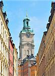 Stockholm Cathedral.  The oldest church in the city Stock Photo - Royalty-Free, Artist: TatyanaSavvateeva             , Code: 400-05731845