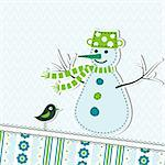 Template christmas greeting card, vector illustration Stock Photo - Royalty-Free, Artist: Tolchik                       , Code: 400-05731876