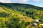 Farmhouse Surrounded by Forest in the French Alps Stock Photo - Royalty-Free, Artist: gkuna                         , Code: 400-05732160