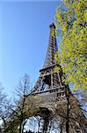 The Eiffel Tower, Paris, France Stock Photo - Royalty-Free, Artist: Dutourdumonde                 , Code: 400-05732345