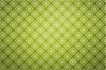 Repeating wallpaper on green background Stock Photo - Royalty-Free, Artist: silent47                      , Code: 400-05732375