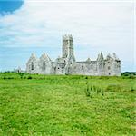 Ross Errilly Priory, County Galway, Ireland Stock Photo - Royalty-Free, Artist: phbcz                         , Code: 400-05732774