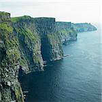 Cliffs of Moher, Burren, County Clare, Ireland Stock Photo - Royalty-Free, Artist: phbcz                         , Code: 400-05732777