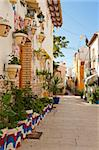 Charming old district of Alicante, Costa Blanca, Spain Stock Photo - Royalty-Free, Artist: hemeroskopion                 , Code: 400-05732779