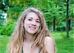 beautiful smiling young attractive woman portrait Stock Photo - Royalty-Free, Artist: ilolab                        , Code: 400-05732822