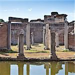Roman columns in Villa Adriana, Tivoli, Italy Stock Photo - Royalty-Free, Artist: Perseomedusa                  , Code: 400-05732889