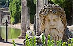 Villa Adriana in Tivoli - Italy. Example of classic beauty in a roman villa. Stock Photo - Royalty-Free, Artist: Perseomedusa                  , Code: 400-05732890