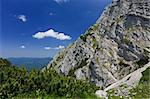 mountain slope in Piatra Craiului Mountains, Romania Stock Photo - Royalty-Free, Artist: porojnicu                     , Code: 400-05733663