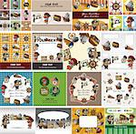 cartoon pirate card   Stock Photo - Royalty-Free, Artist: notkoo2008                    , Code: 400-05734022
