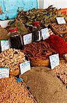 Beautiful vivid oriental market with various spices Stock Photo - Royalty-Free, Artist: Fyletto                       , Code: 400-05734032
