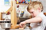 Young Boy Playing at Montessori/Pre-School Stock Photo - Royalty-Free, Artist: MonkeyBusinessImages          , Code: 400-05735266