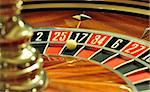 image with a casino roulette wheel with the ball on number 17 Stock Photo - Royalty-Free, Artist: tony4urban                    , Code: 400-05735564