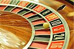 image with a casino roulette wheel with the ball on number 10 Stock Photo - Royalty-Free, Artist: tony4urban                    , Code: 400-05735566
