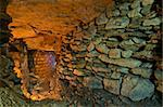 The stone wall in the underground catacombs. Stock Photo - Royalty-Free, Artist: Ascold                        , Code: 400-05736166