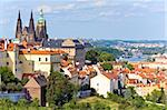 Stare Mesto (Old Town) view, Prague, Czech Republic Stock Photo - Royalty-Free, Artist: Yuriy                         , Code: 400-05737721