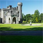 Johnstown Castle, County Wexford, Ireland Stock Photo - Royalty-Free, Artist: phbcz                         , Code: 400-05739350