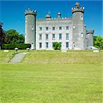 Tullynally Castle, County Westmeath, Ireland Stock Photo - Royalty-Free, Artist: phbcz                         , Code: 400-05739360