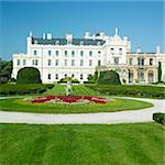 Lednice chateau, Czech Republic Stock Photo - Royalty-Free, Artist: phbcz                         , Code: 400-05739362