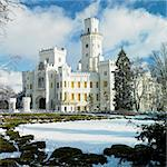 Hluboka nad Vltavou chateau, Czech Republic Stock Photo - Royalty-Free, Artist: phbcz                         , Code: 400-05739370