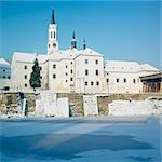 monastery, Vyssi Brod, Czech Republic Stock Photo - Royalty-Free, Artist: phbcz                         , Code: 400-05739371