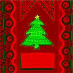 christmas background, this illustration may be useful as designer work Stock Photo - Royalty-Free, Artist: Lady_Aqua                     , Code: 400-05742128