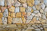 close-up of a stone wall with irregular pieces Stock Photo - Royalty-Free, Artist: nito                          , Code: 400-05742132