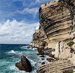 Wild and beautiful coast of Corsica with spectacular stone formations in the sea Stock Photo - Royalty-Free, Artist: Fyletto                       , Code: 400-05742235